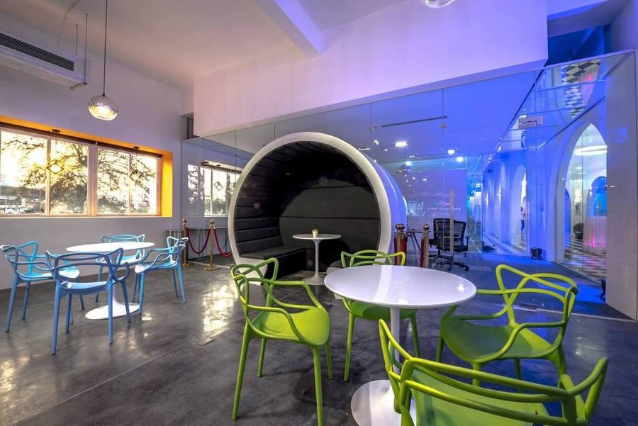 Mẫu thiết kế văn phòng không gian sáng tạo