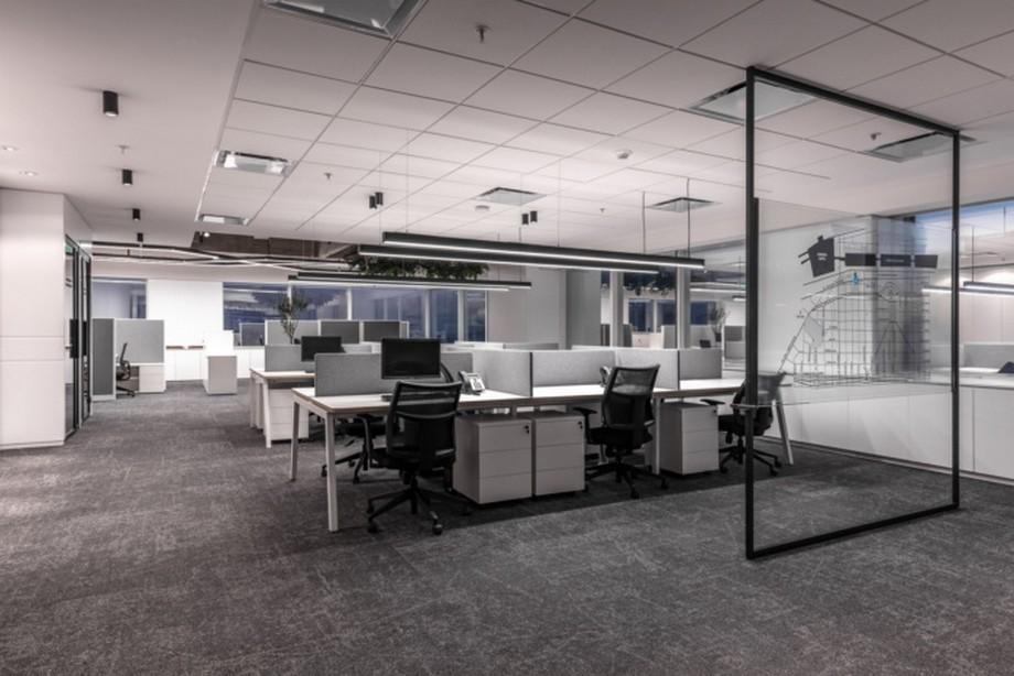 Thiết kế nội thất văn phòng 200m2