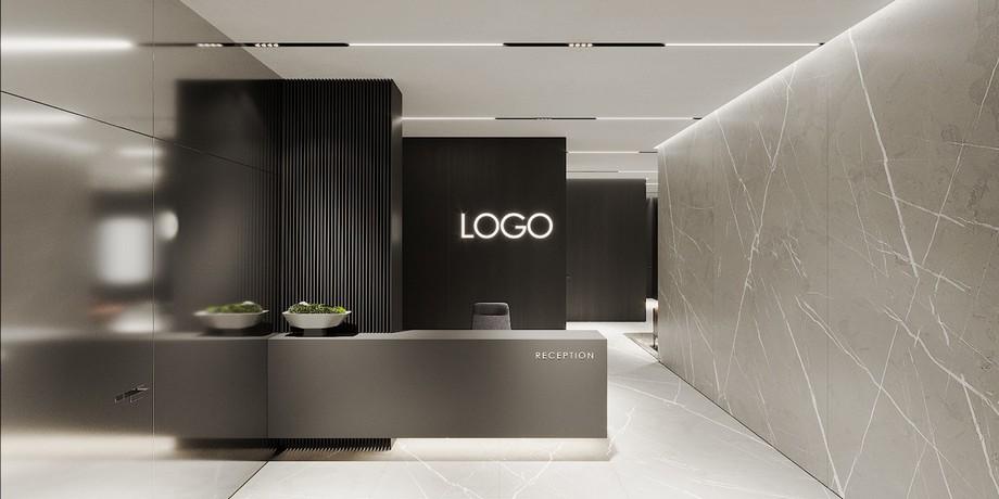 Thiết kế văn phòng 200m2 sáng tạo