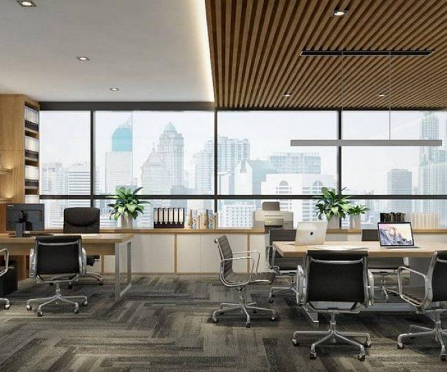 Thiết kế nội thất văn phòng chung cư hiện đại