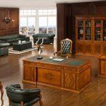 Mẫu thiết kế văn phòng cổ điển cho văn phòng giám đốc