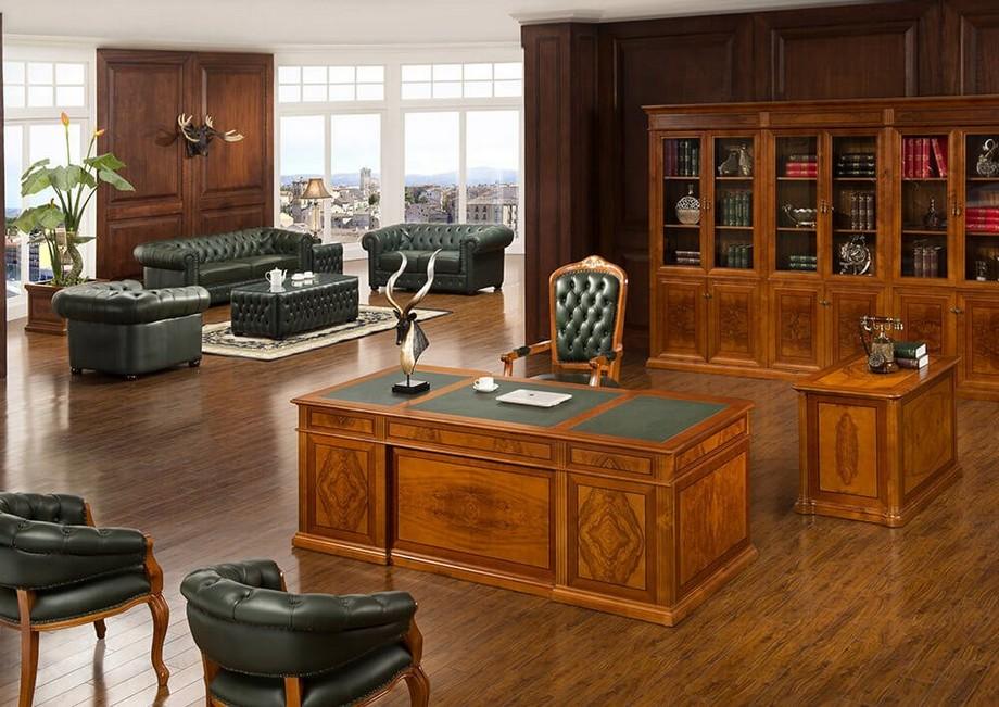Văn phòng giám đốc cổ điển đẹp