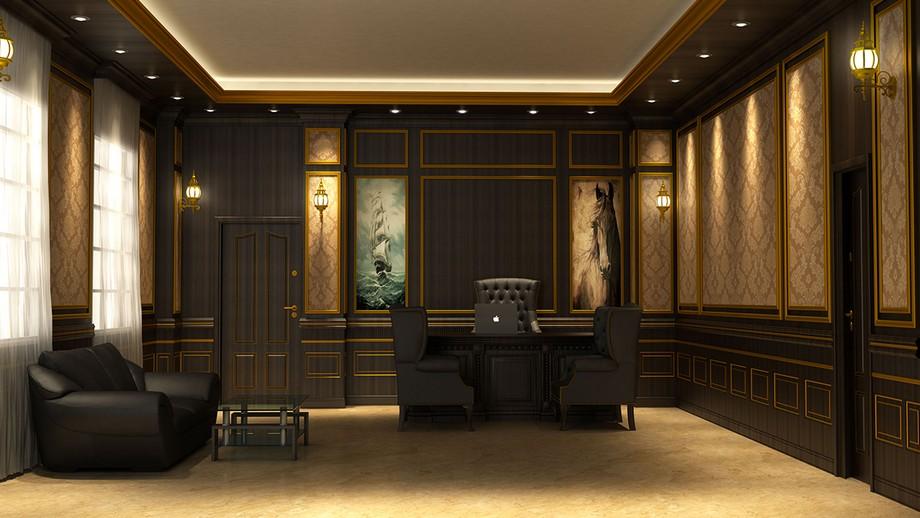 Thiết kế văn phòng cổ điển