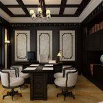 Thiết kế văn phòng cổ điển 2020 – vẻ đẹp nhuốm màu thời gian