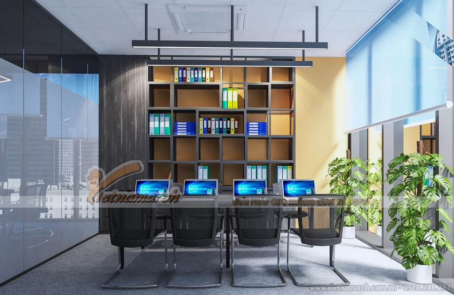 Thiết kế phòng họp đa chức năng
