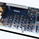 Hồ sơ thiết kế nội thất văn phòng công ty công nghệ SSKPI tại Trần Bình Hà Nội