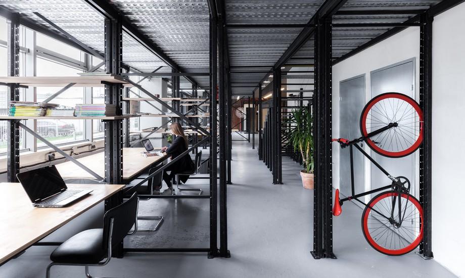 Thiết kế văn phòng công nghiệp