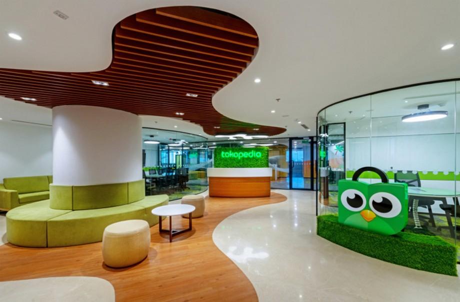Thiết kế văn phòng công ty công nghệ Tokopedia