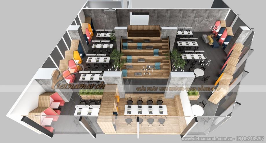 Không gian phòng họp trong coworking space hiện đại