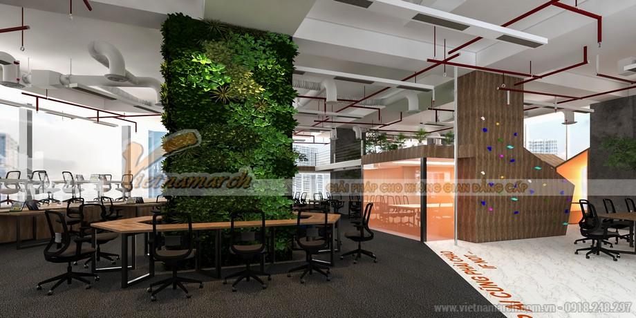dự án coworking space đẹp