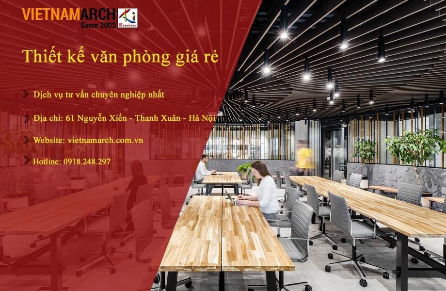 Vietnamarch - đơn vị thiết kế văn phòng giá rẻ nhất