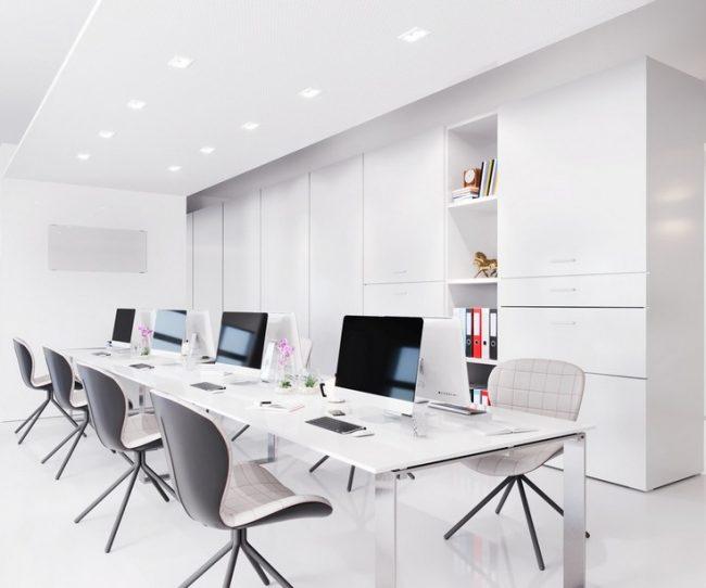 Thiết kế thi công nội thất văn phòng HCM