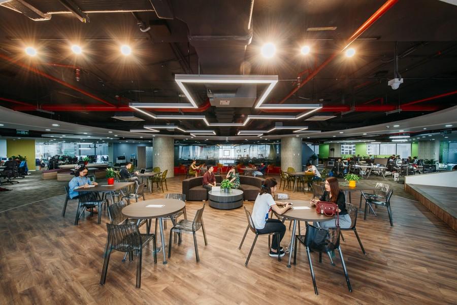 Thiết kế văn phòng không gian chia sẻ Co-working