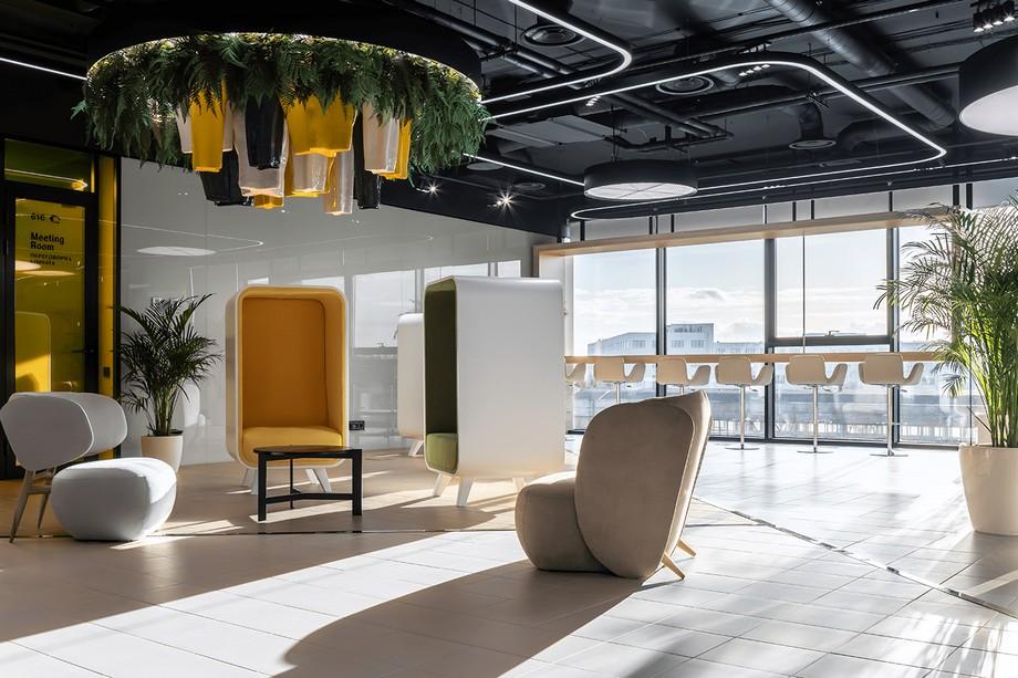 Thiết kế văn phòng sáng tạo theo không gian mở