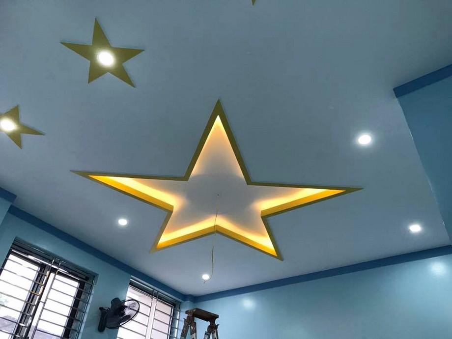 Trần thạch cao hình ngôi sao