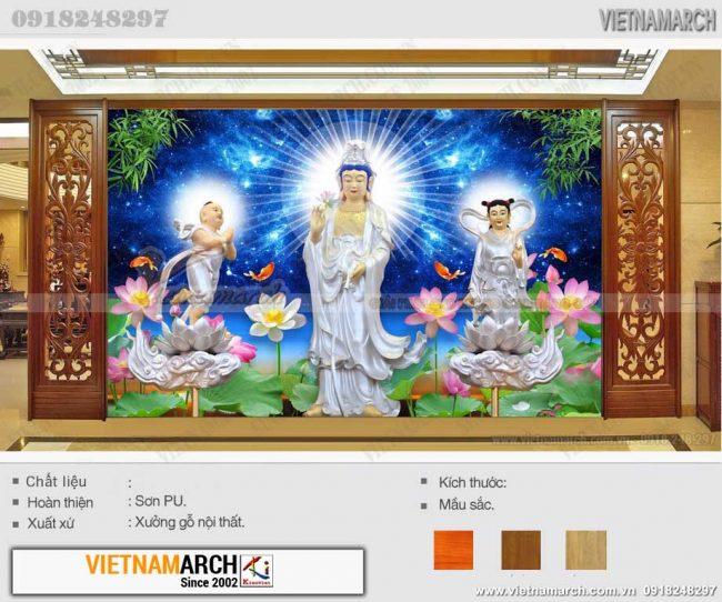 Tranh dán tường phòng thờ Phật, tranh treo phòng thờ Thiên Chúa