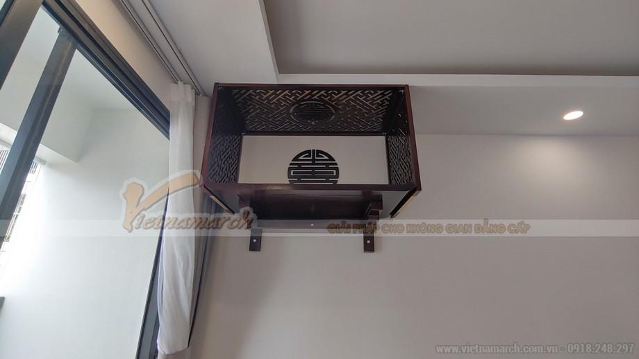 Lắp vách ngăn bàn thờ treo tường như thế nào cho đẹp?