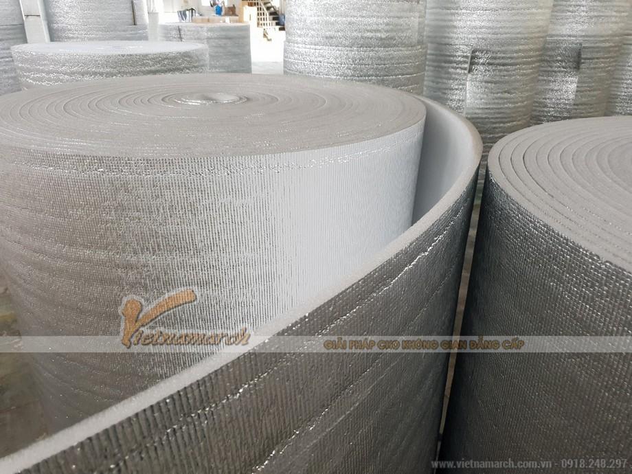 Giải pháp cách nhiệt hiệu quả cho mái nhà bằng tôn sử dụng xốp PE-OPP cách nhiệt