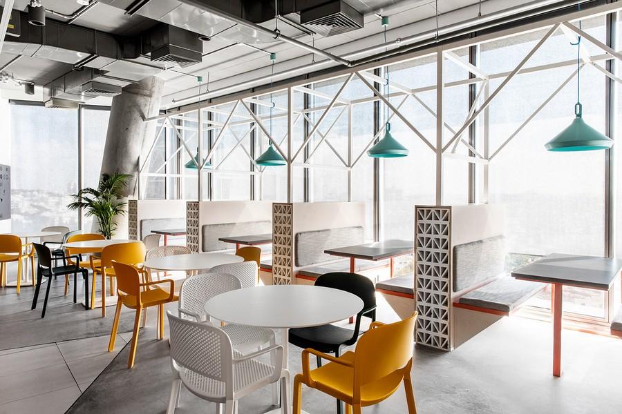 Mẫu thiết kế văn phòng theo phong cách retro