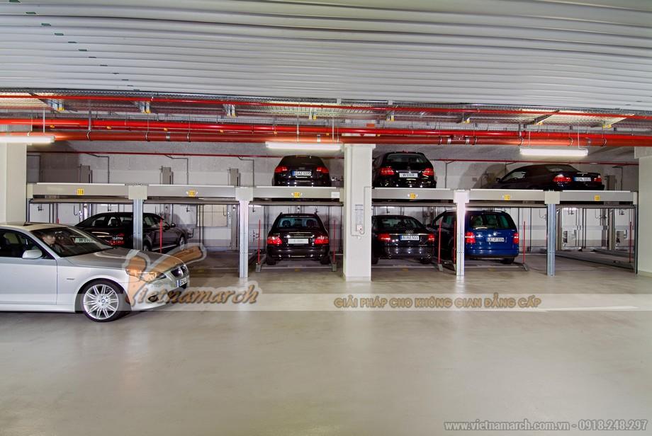 Thiết kế Thiết kế bãi đỗ xe 2 tầng