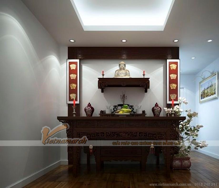Hình ảnh bàn thờ chung cư cao cấp đẹp
