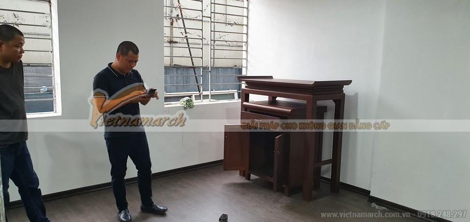 Mẫu bàn thờ đứng BTD09 cho chung cư