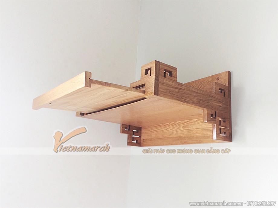 Mẫu bàn thờ ông táo treo tường đẹp