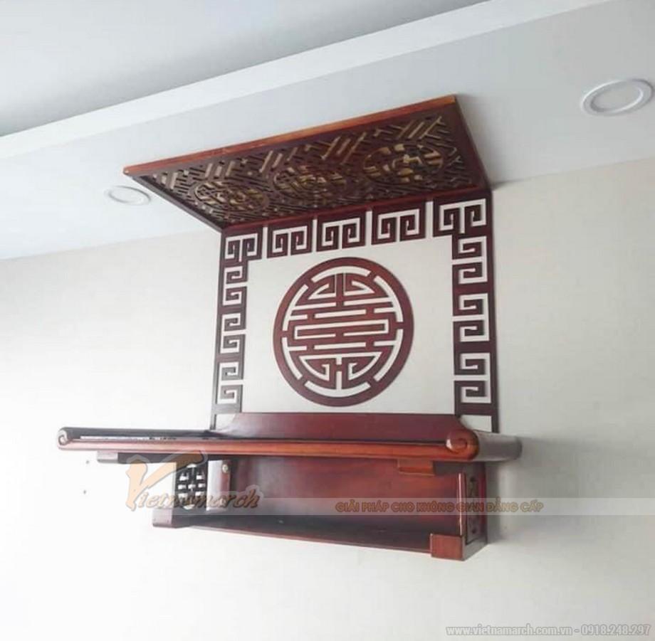 Độ bền của bàn thờ treo gỗ mít