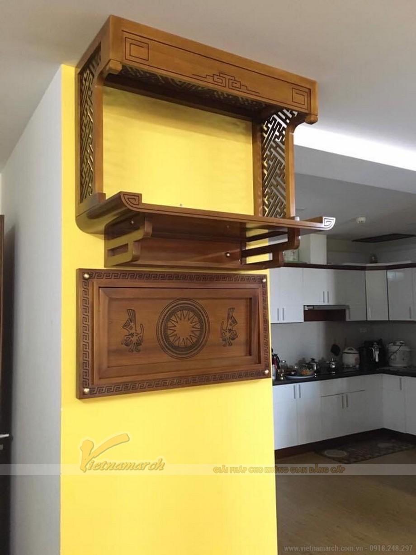 Kích thước bàn thờ treo gỗ mít