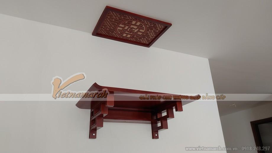 Bàn thờ treo hiện đại cho chung cư