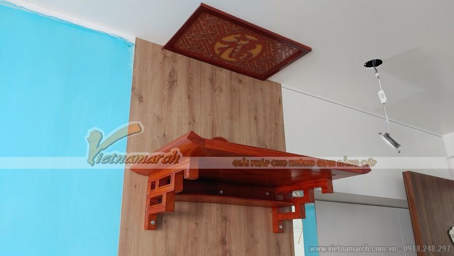 Bàn thờ thiết kế cho chung cư Anland