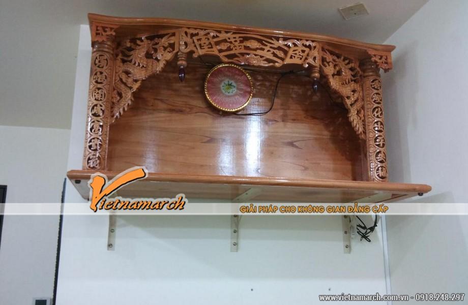 Ngày càng có nhiều loại bàn thờ đẹp ra đời