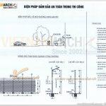 Biện pháp thi công văn phòng an toàn theo đúng tiêu chuẩn ngành xây dựng