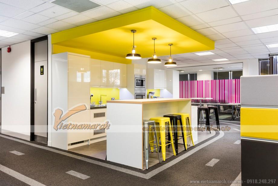 Bố trí không gian phụ trợ trong văn phòng