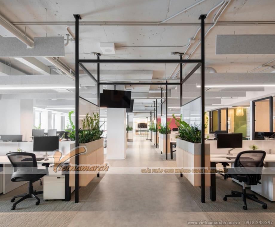 Nguyên tắc bố trí văn phòng làm việc đẹp, hiện đại