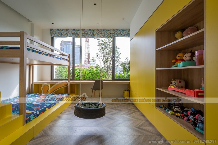 Thiết kế phòng ngủ nhà phố