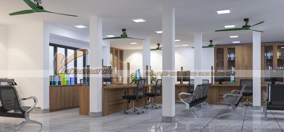 Cải tạo văn phòng quản lý đất đai chi nhánh khu vực Ba Đình - Hoàn Kiếm - Hà Nội