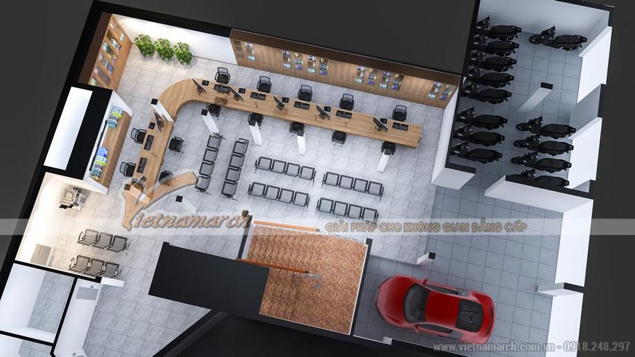 Bản vẽ thiết kế văn phòng 3D