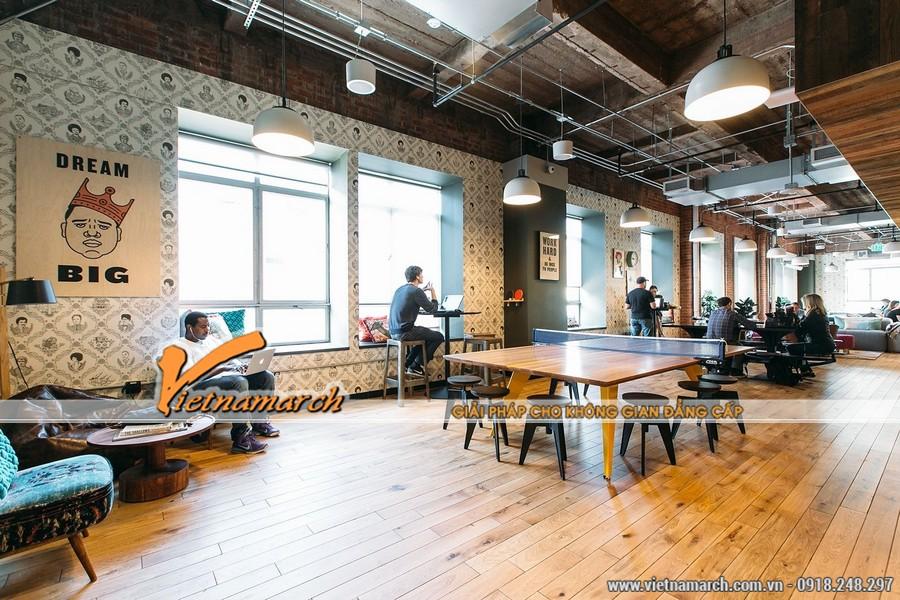 Freelancers và những người làm việc từ xa rất thích hợp với văn phòng Coworking space