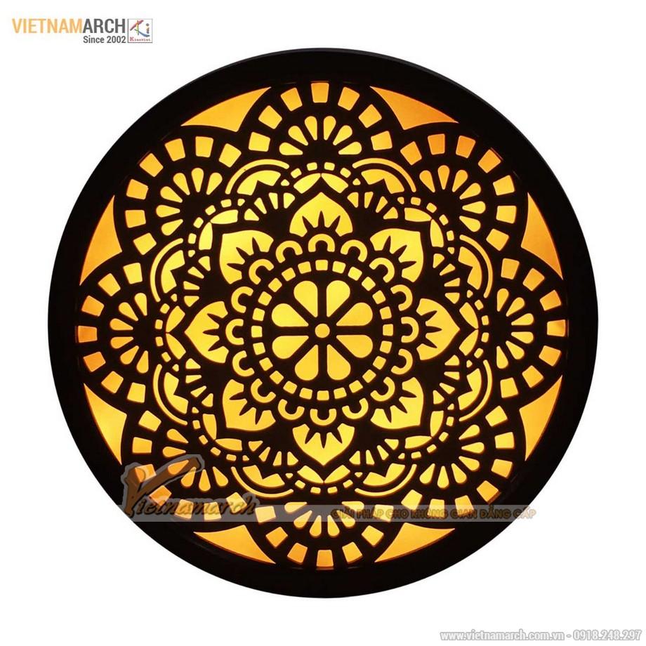 Mẫu đèn tranh thờ đẹp mê mẩn