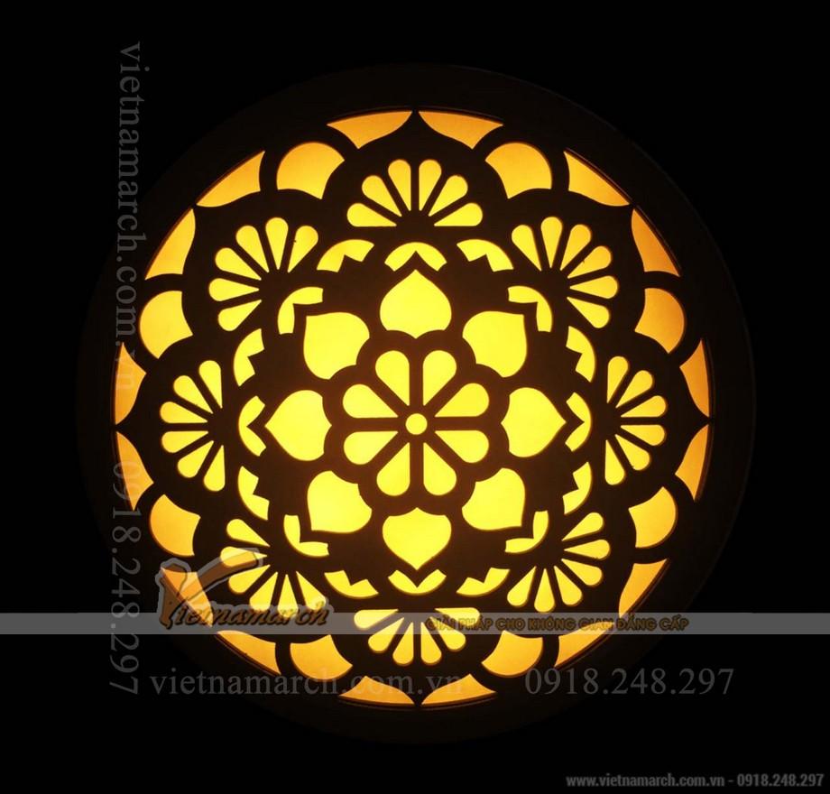 Đèn tranh phòng thờ đẹp