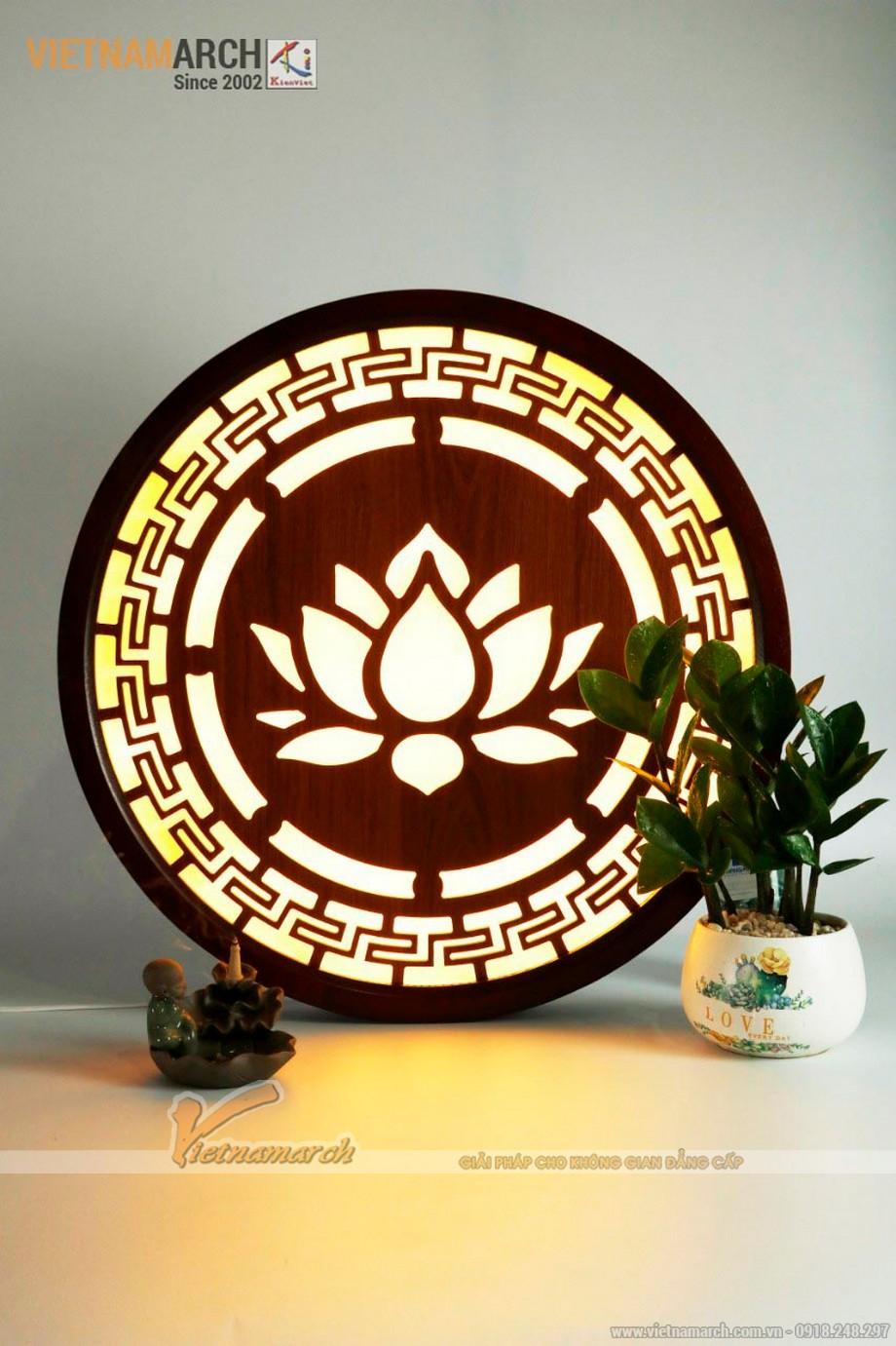 Đèn tranh bàn thờ đẹp dành cho thờ gia tiên thờ phật