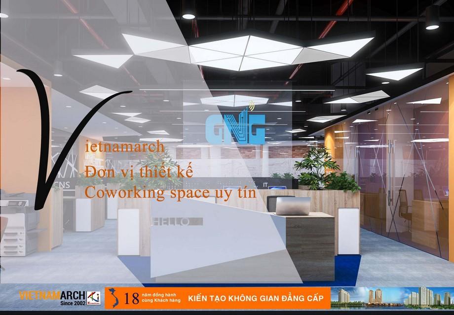 Đơn vị thiết kế coworking space Hải Phòng uy tín