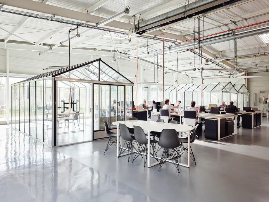 Không gian văn phòng đẹp và hiện đại