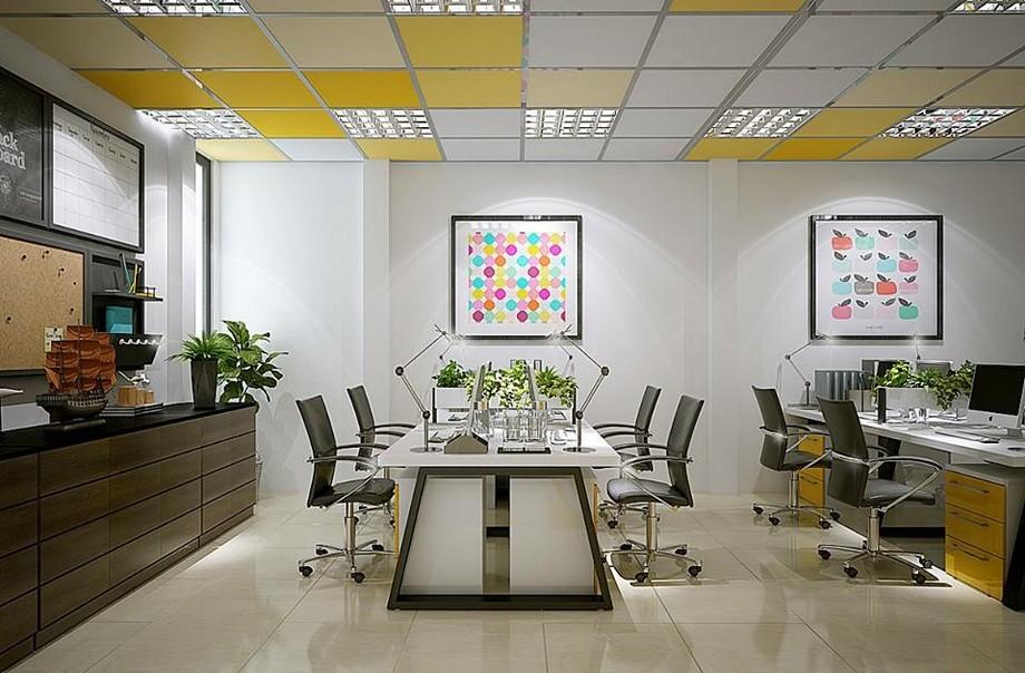 Thiết kế không gian văn phòng đẹp