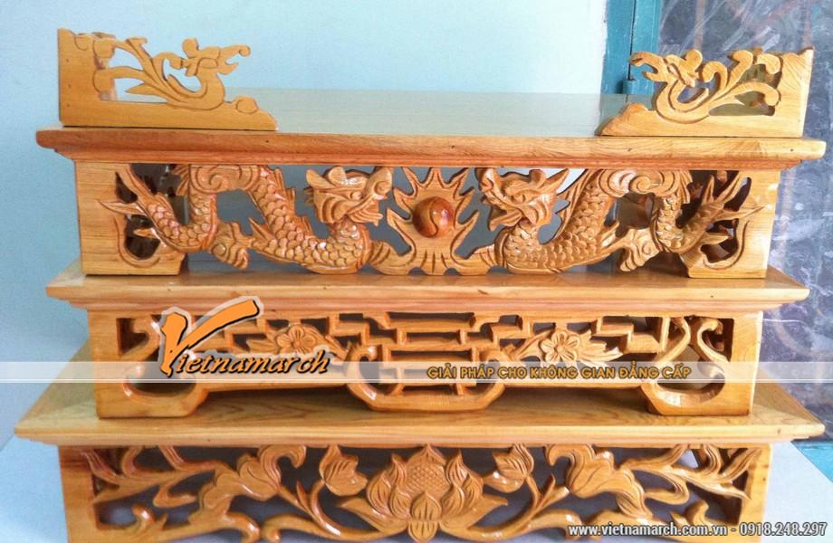 Nên chọn loại gỗ tốt để bàn thờ sử dụng được lâu dài