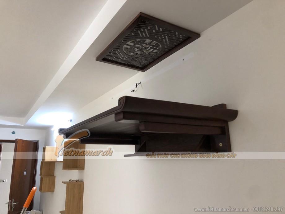 Không gian phòng thờ treo nhà chung cư