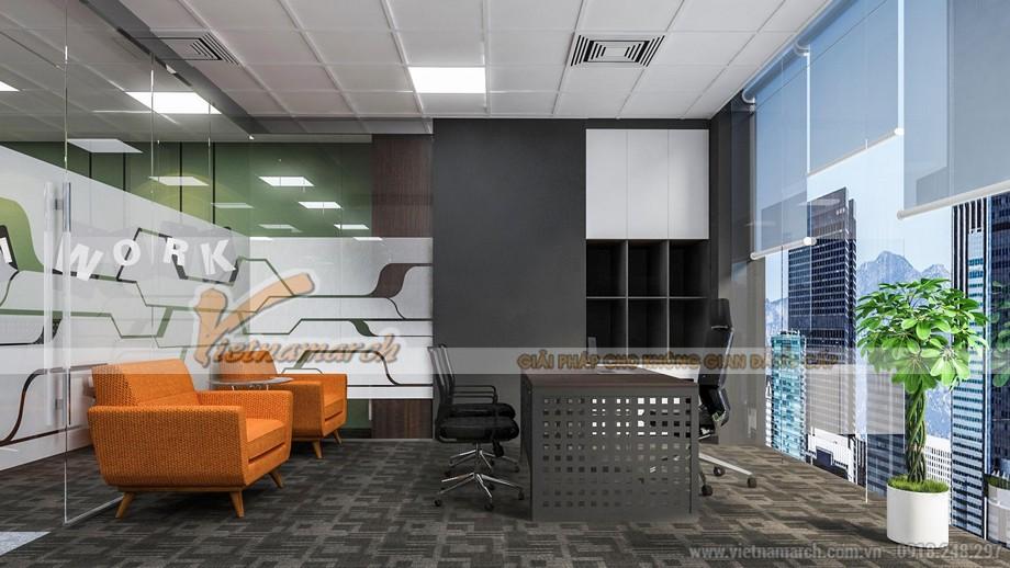 Không gian văn phòng công ty bất động sản