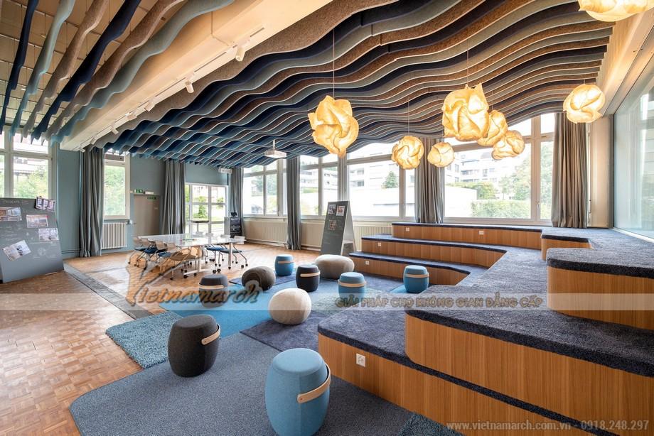 Không gian văn phòng coworking space