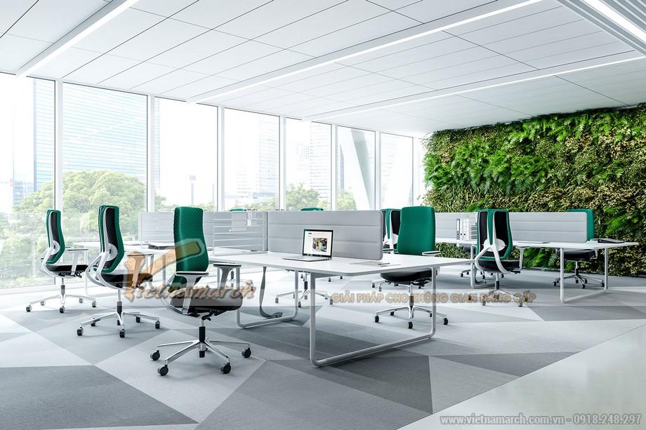 Không gian văn phòng hiện đại